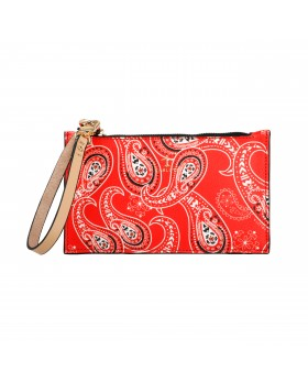 PALIACATE ROJO MINI CLUTCH